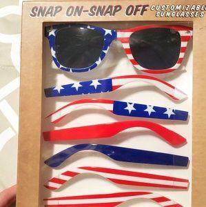 Accessories - NEW Patriotic Sunglass Set